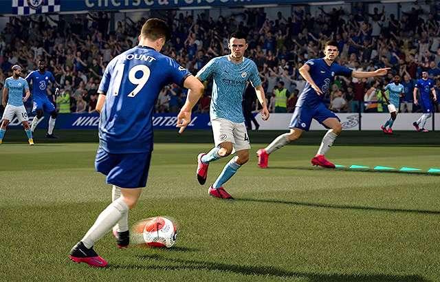 Il gameplay di FIFA 21