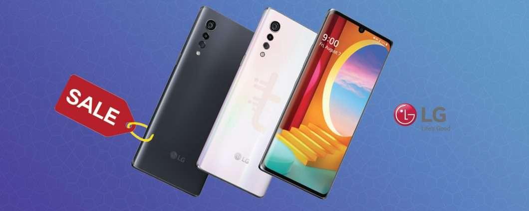 LG Velvet: ancora in offerta al 35% di sconto