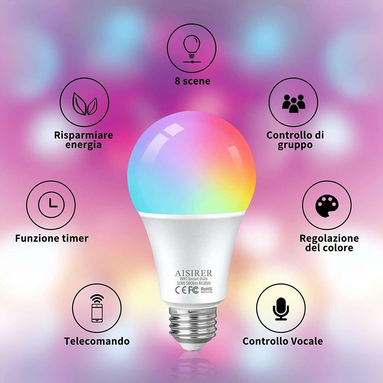 lampadine smart RGB