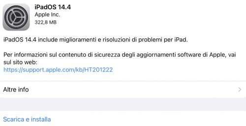 iPadOS 14.4