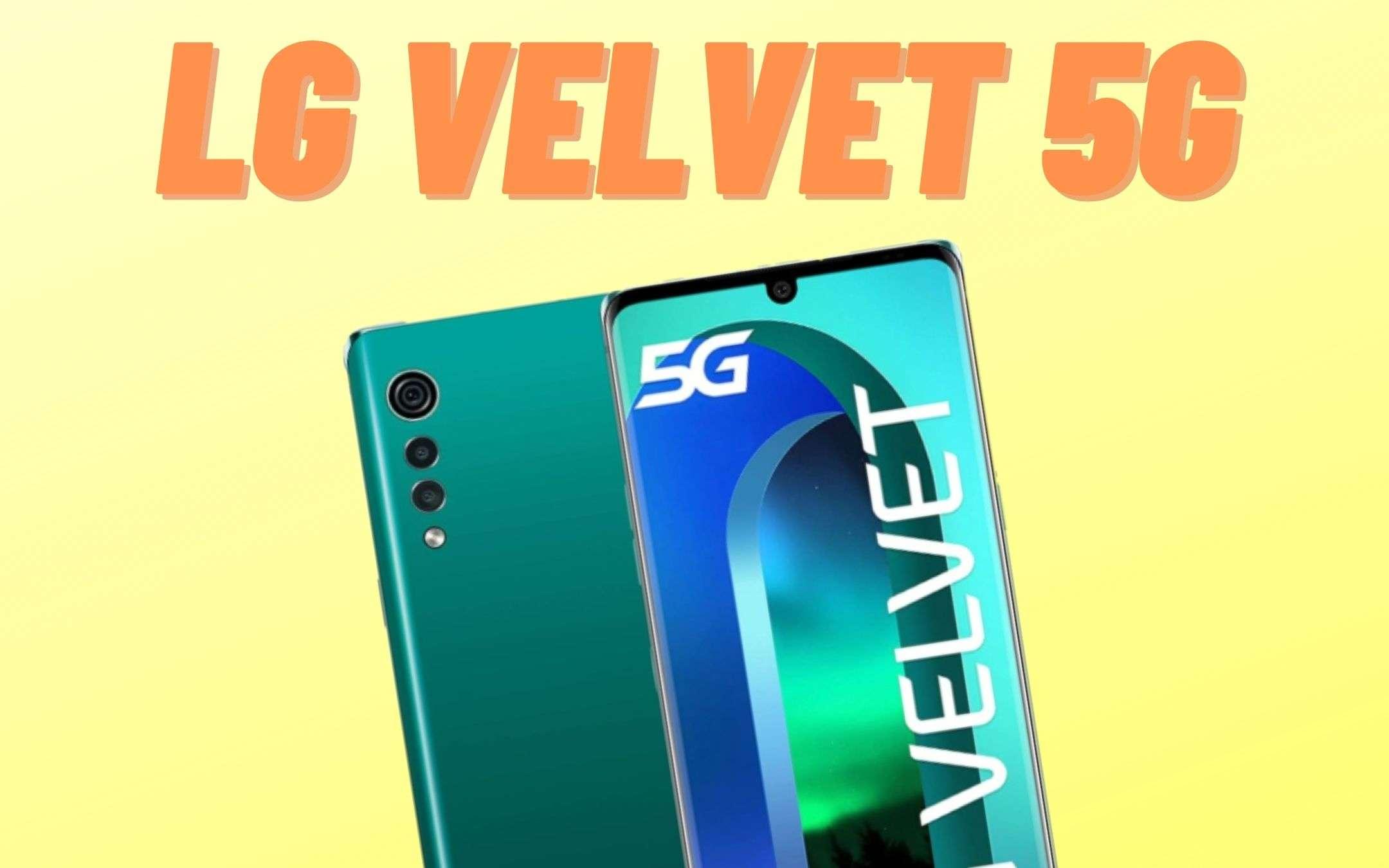 Velvet 5G: minimo storico per il gioiellino di LG