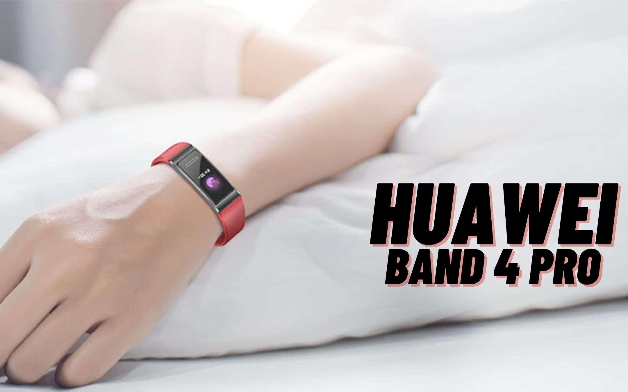 Huawei Band 4 Pro ad un prezzo ECCEZIONALE (-30€)