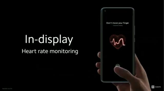 Battito cardiaco Xiaomi mi11