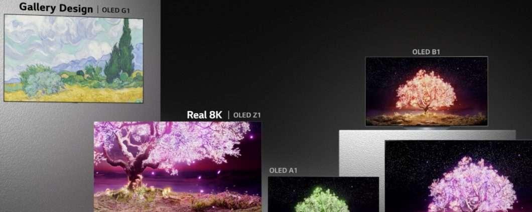 LG Electronics: ecco la gamma di TV OLED (2021)