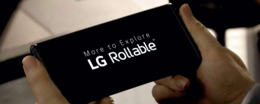 LG Rollable ad un passo dal lancio: ecco perchè