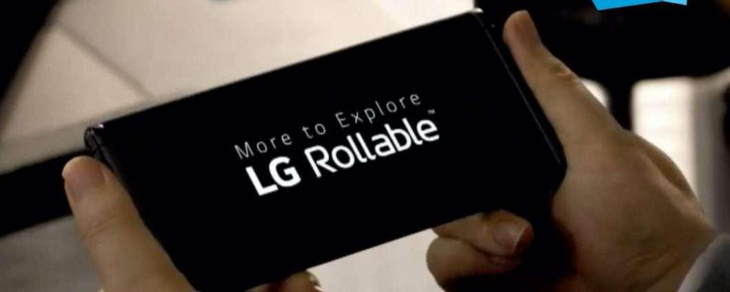 LG Rollable potrebbe non vedere mai la luce del giorno