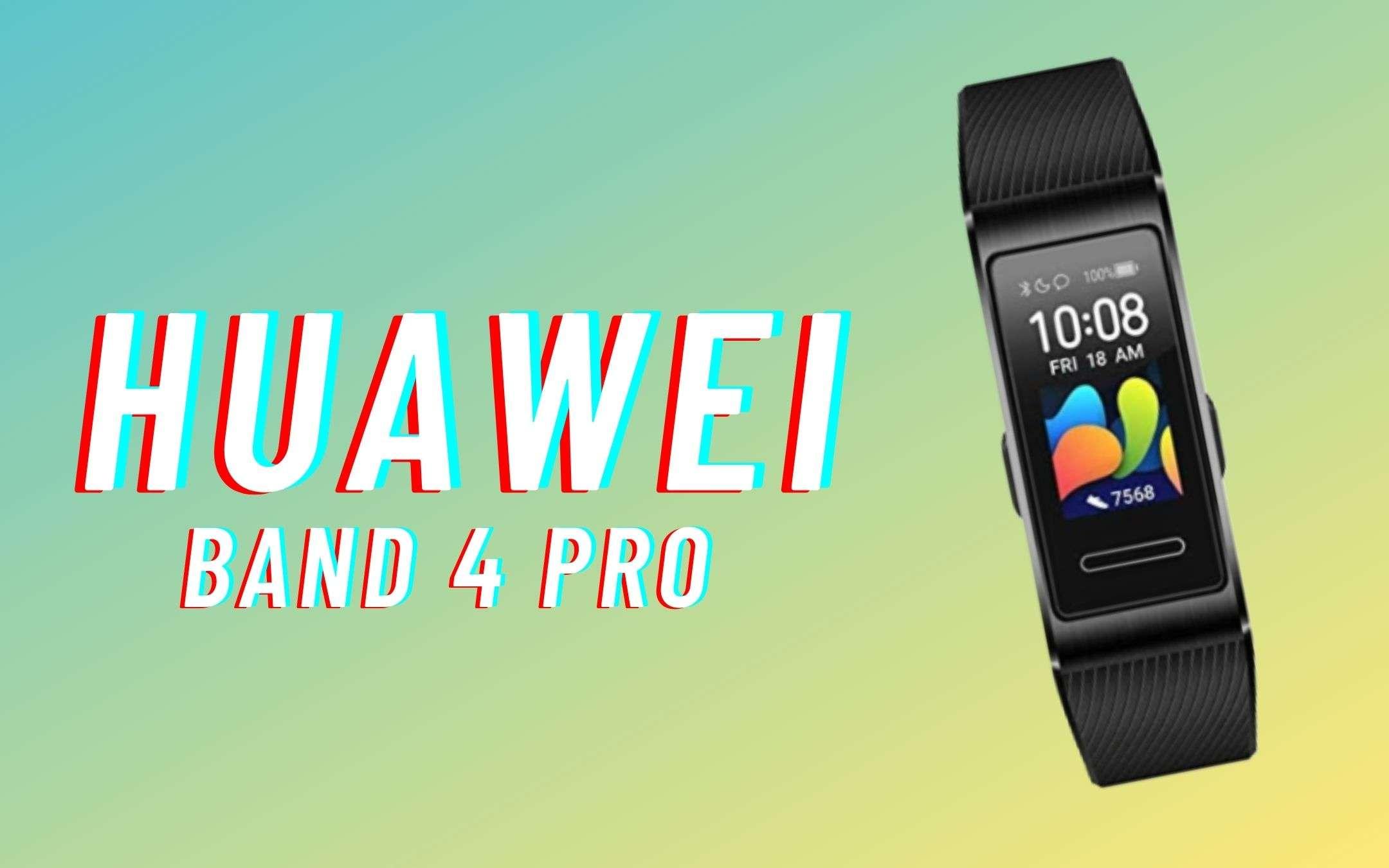 Huawei Band 4 Pro: perfetta per lo sport (-30€)