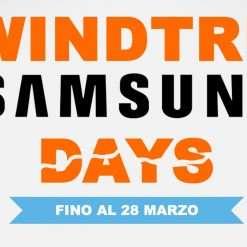 Samsung Days: 400 euro di sconto con WINDTRE!