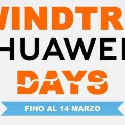 HUAWEI Days: fino a 300€ di sconto con WINDTRE