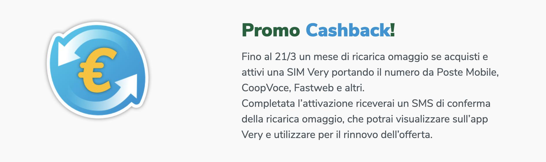 VeryMobile Promo Cashback
