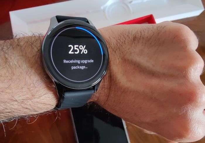 Aggiornamento OnePlus Watch