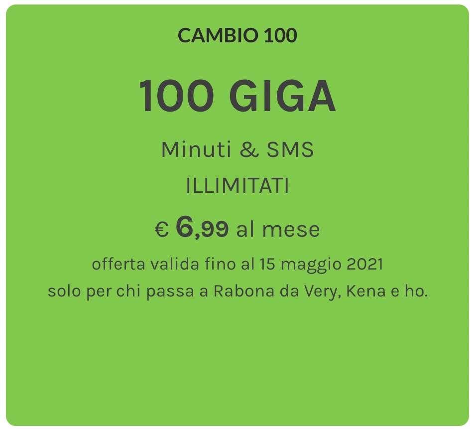 Rabona Cambio 100