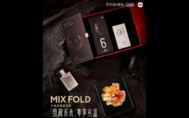 Xiaomi Mi Mix Fold x Armani