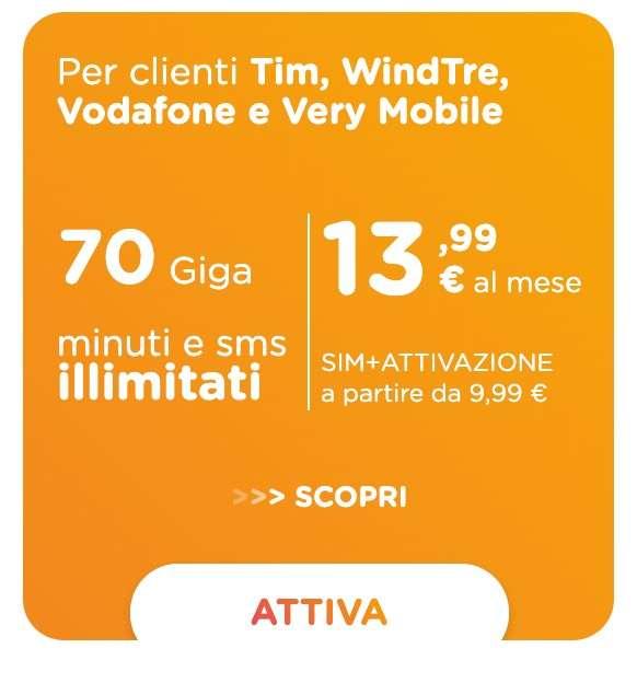 Ho Mobile 70 Giga