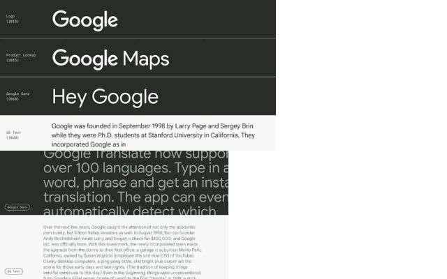 Google Text Sans