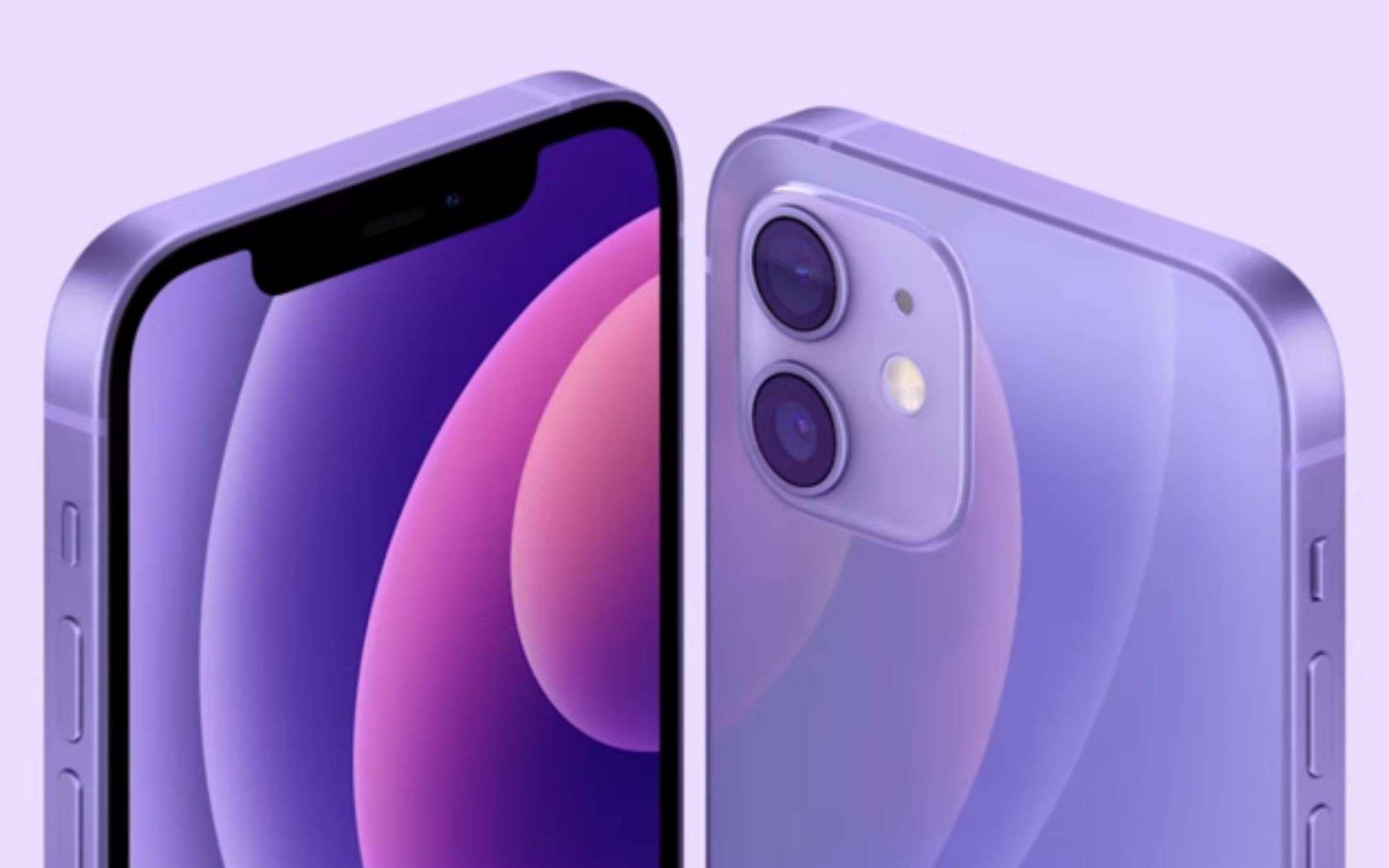 iPhone 12 mini viola