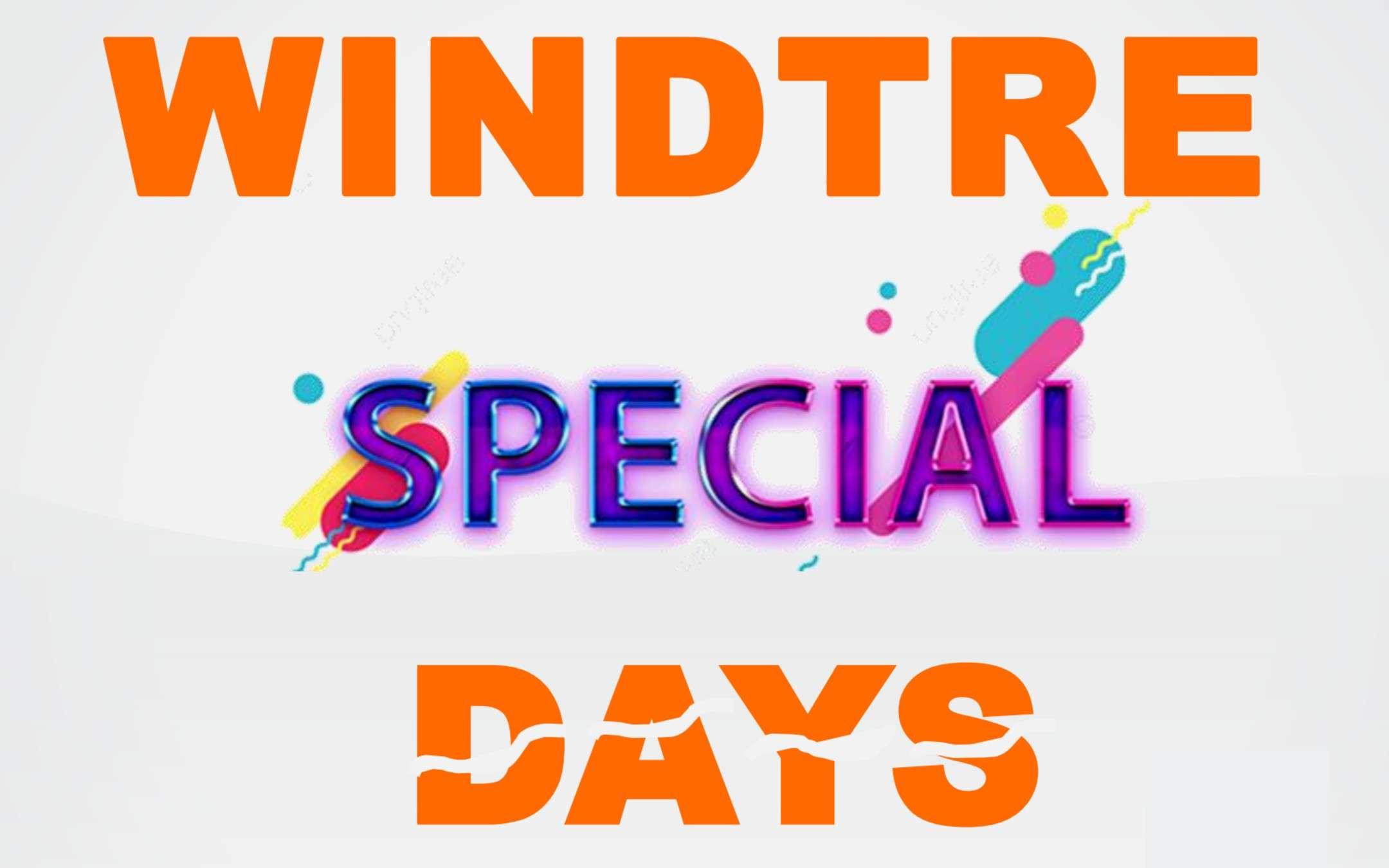 Special Days WINDTRE: quasi un mese di sconti TOP!