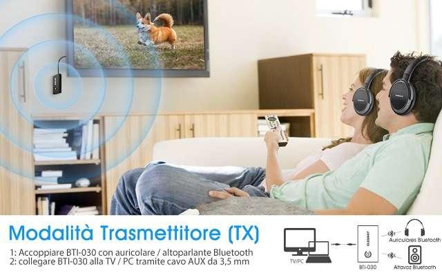 Trasmettitore e ricevitore Bluetooth 5.0