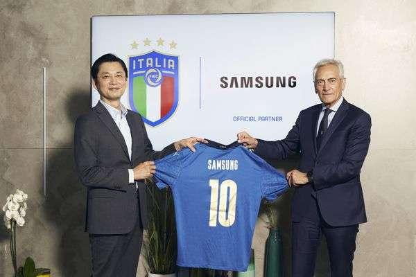 Samsung, sponsor FIGC