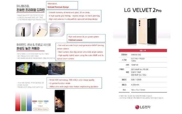 LG Velvet 2 Pro