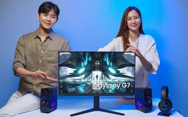 Samsung Odissey gaming monitor