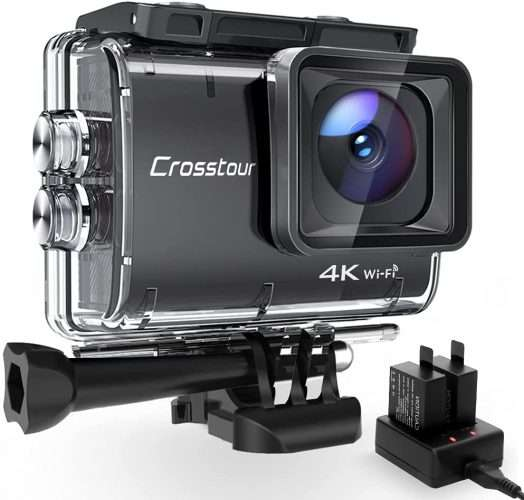 crosstour action cam prime day 2021