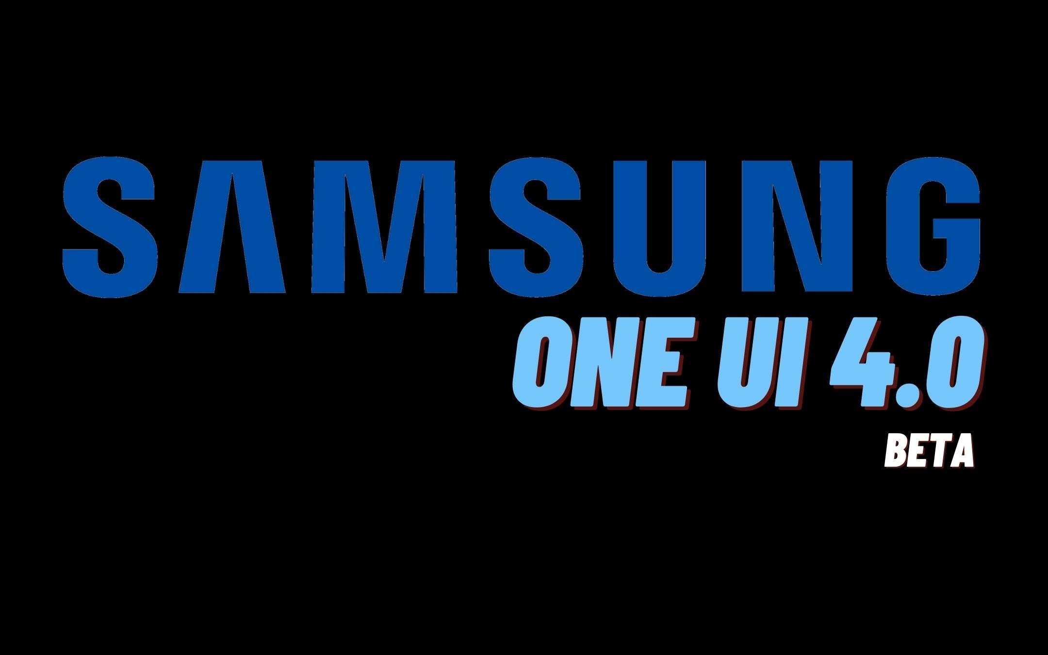 Samsung One UI 4.0 Beta