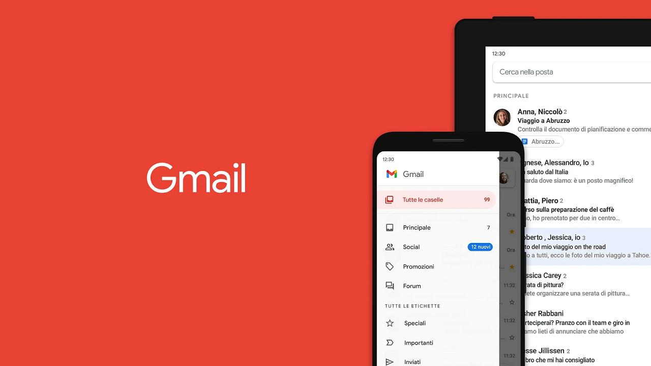 Gmail per Android, nuovo aggiornamento: disponibili i filtri di ricerca