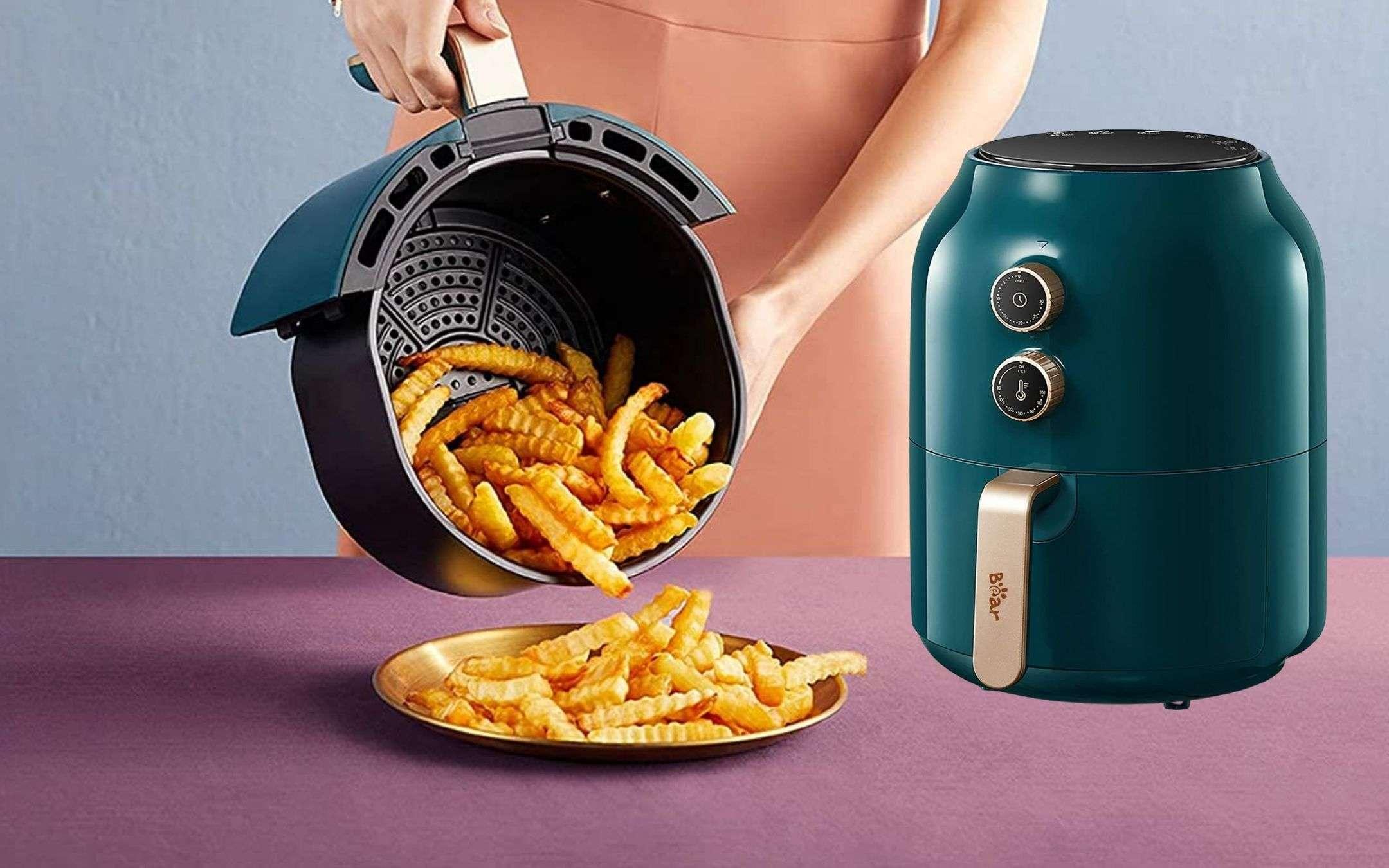 Friggitrice ad aria by Xiaomi: fritto top, prezzo WOW (55€)
