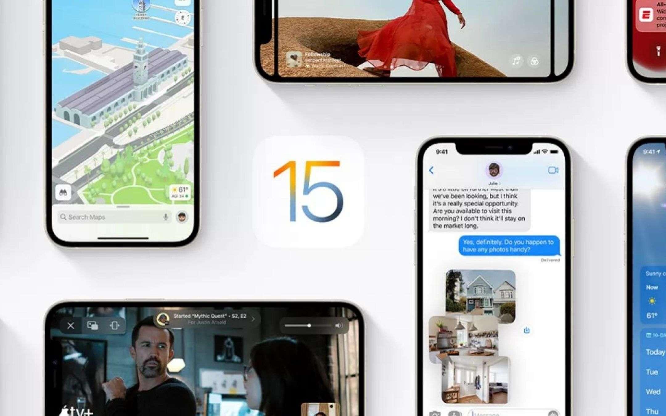 iOS 15: il BUG che sta facendo impazzire gli utenti