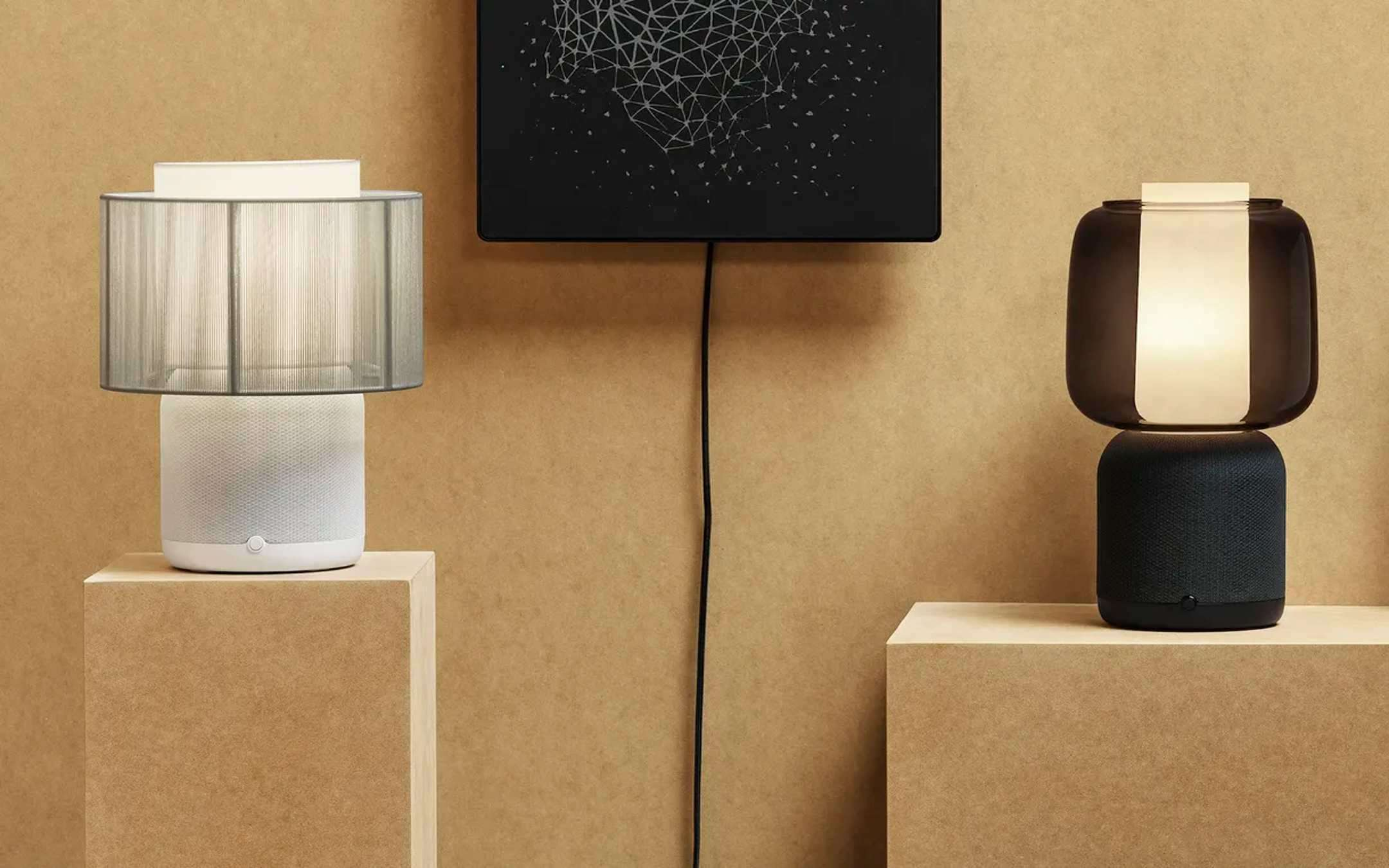 Ikea e Sonos: ecco la nuova lampada speaker Symfonisk