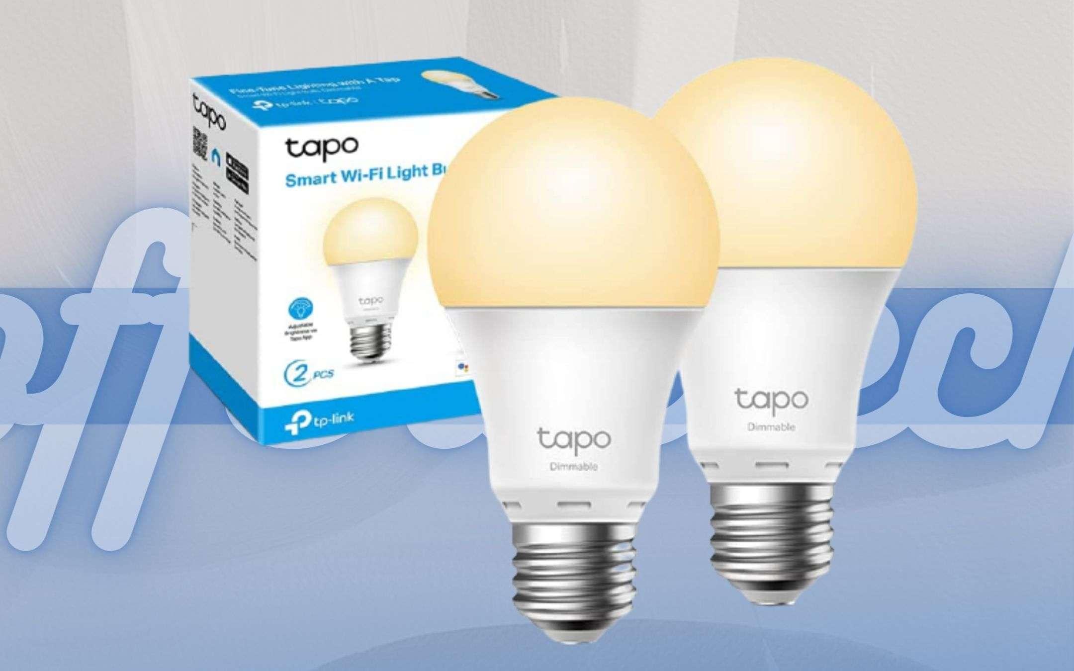 Lampadine smart TP LINK: rendono casa tua intelligente (-30%)