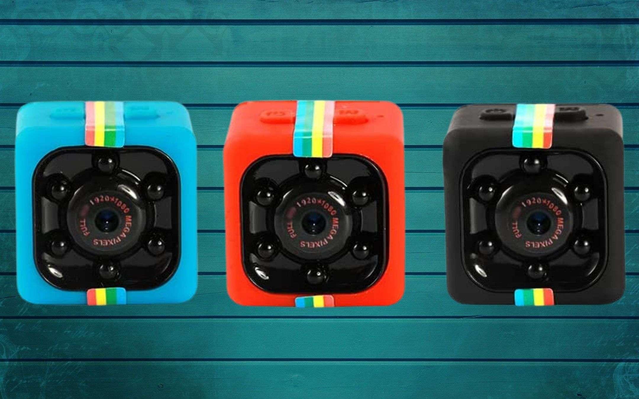 Videocamera invisibile a 7€ su Amazon: è PAZZESCO