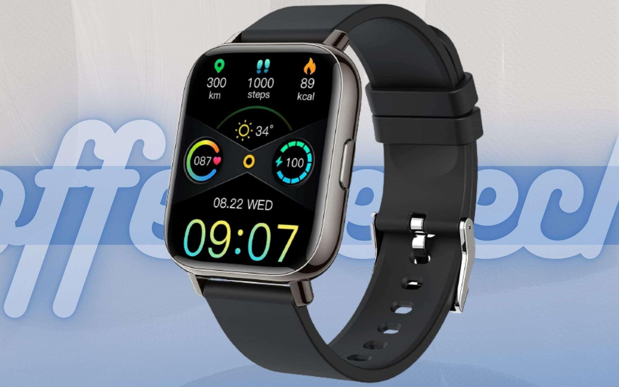 Smartwatch SBALORDITIVO: diventa tuo con meno di 30€, un affare