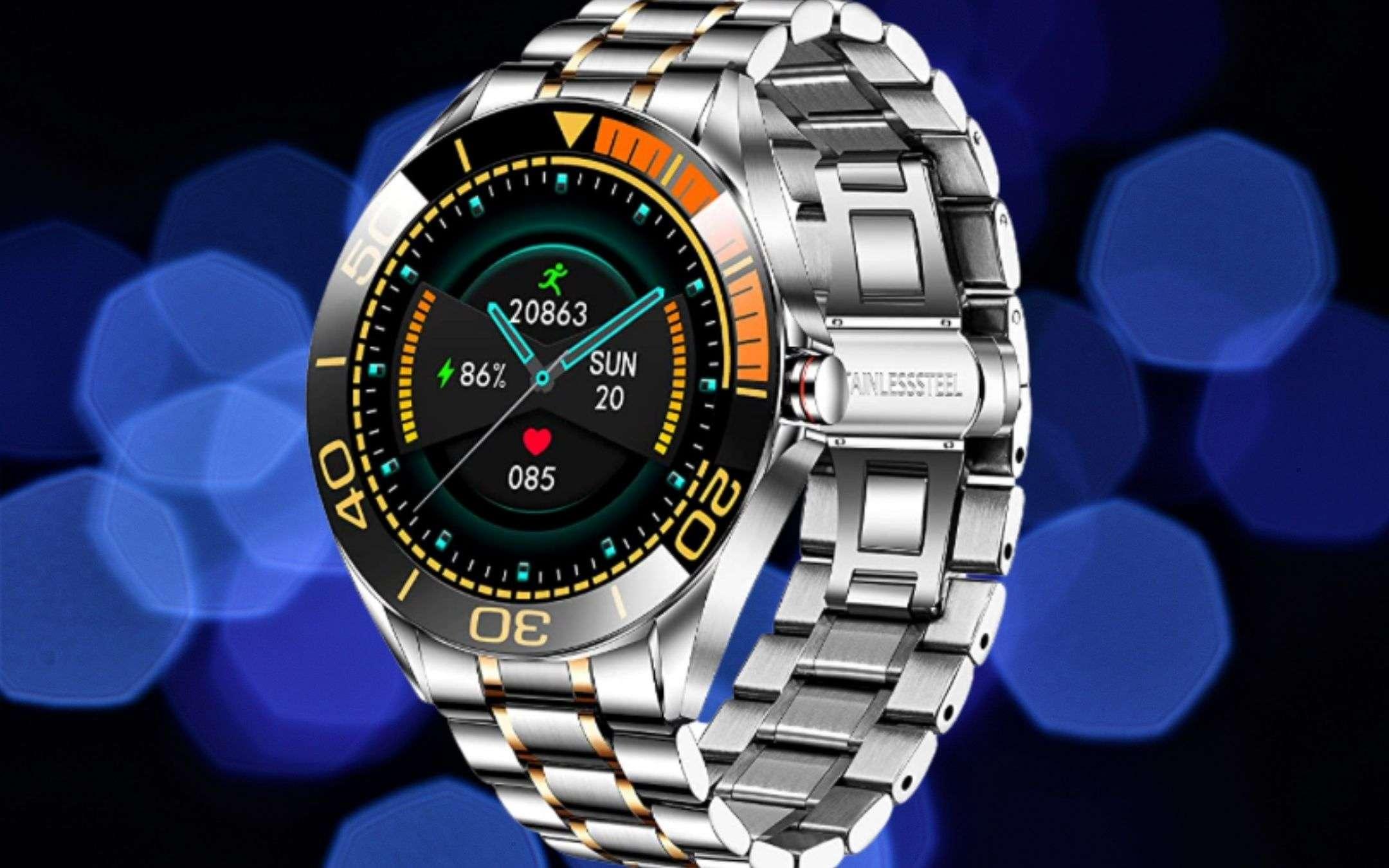 Questo smartwatch è un CAPOLAVORO di eleganza (48€)