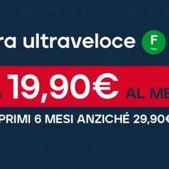 JustSpeed: Fibra FTTH Linkem a 19,90€ per 6 mesi!