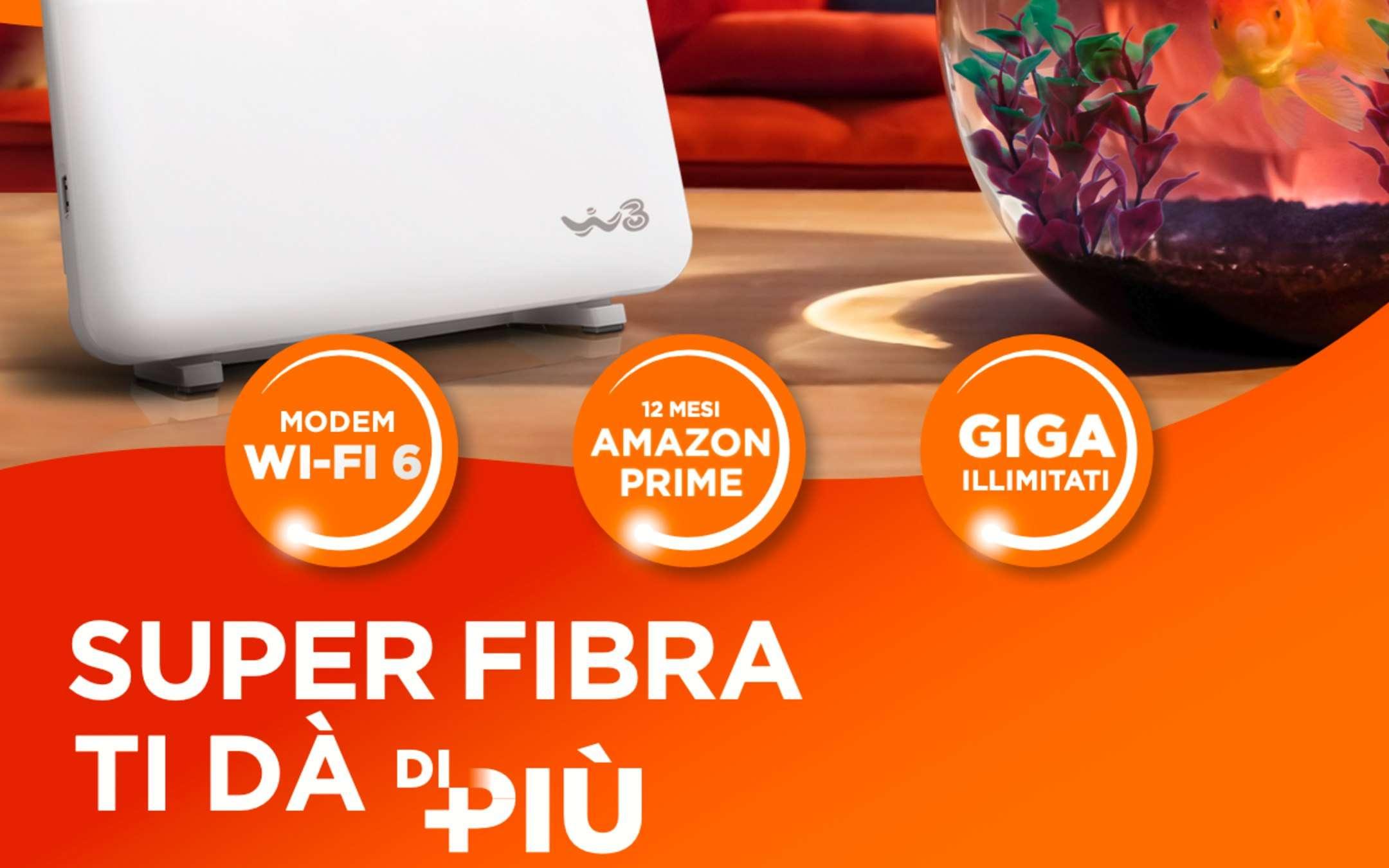 MIA SuperFibra: ora a 19,99€ per già clienti W3
