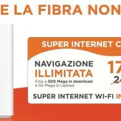 Super Internet Casa: anche via SMS a 17,99€ con W3