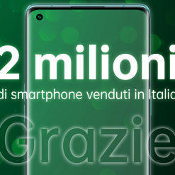 OPPO ha venduto più di 2 milioni di smartphone in Italia