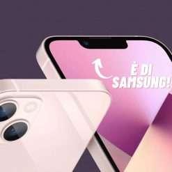 iPhone 13 sta aiutando le vendite di Samsung
