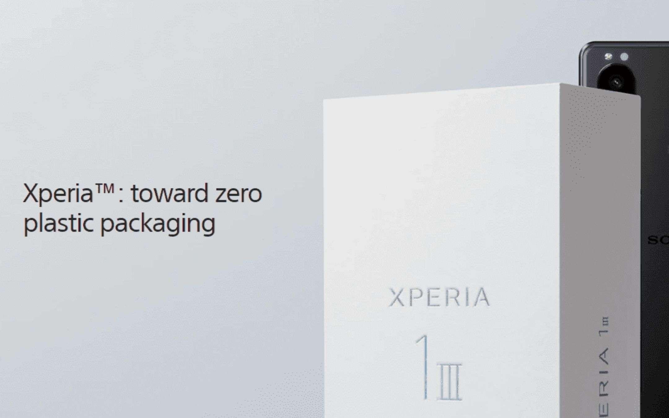 Le confezioni dei device Sony saranno PLASTIC-FREE