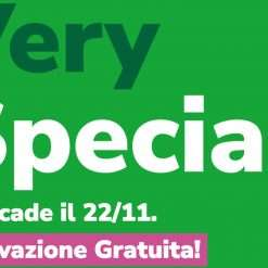 VerySpecial: 130GB a 7,99€ fino al 22 Novembre!