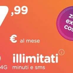 ho 7,99: 120GB, minuti e SMS illimitati a 7,99€