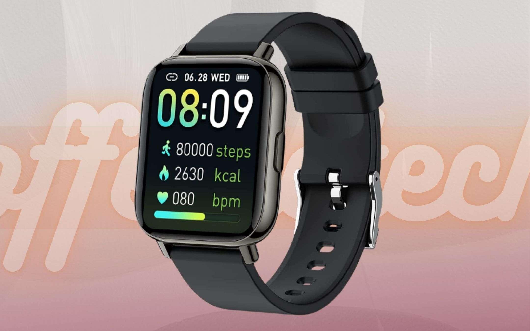 Prezzo BOMBA su Amazon: questo smartwatch lo paghi pochissimo