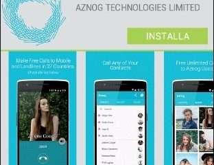 Aznog, l'app che ti fa telefonare gratis