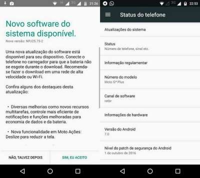 Android 7 su Moto G4 Play (in Brasile)