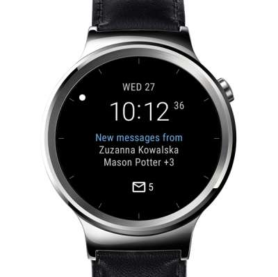 Android Wear - Microsoft Outlook watch face
