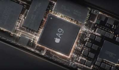 CPU Apple A9 con GPU Power VR