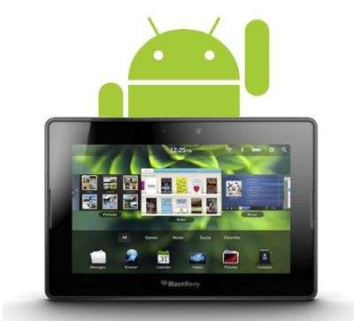 BlackBerry Playbook supporterà Android