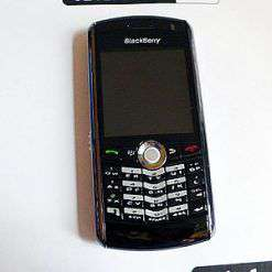 rubrica blackberry 8100